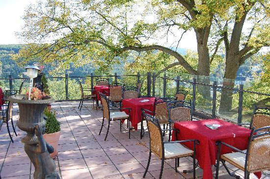 Schloss-Hotel Kurfürstliches Amtshaus: Terrasse