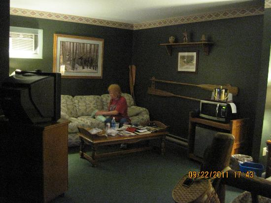 East Shore Lodging: spacious room
