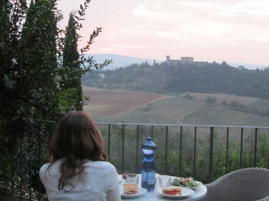 I Melograni del Chianti: Dinner Al Fresco