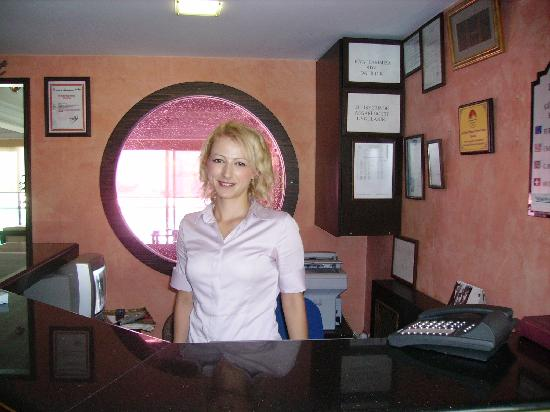 Orsmaris Boutique Hotel: Friendly Welcome from Rabia hanim!