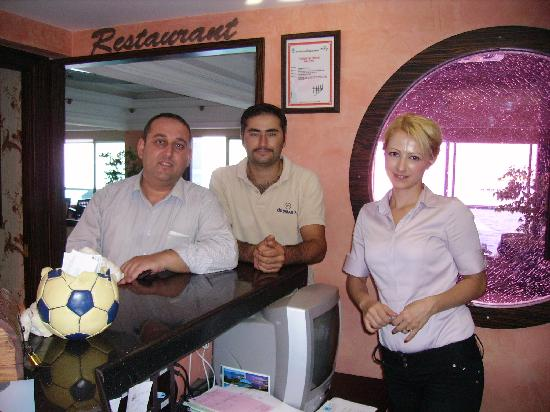 Orsmaris Boutique Hotel: Team that makes it all happen!