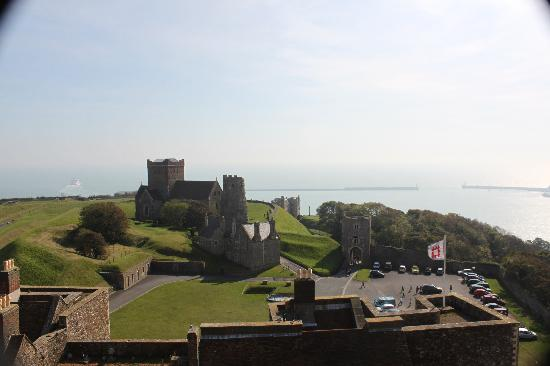 Dover Castle: General View