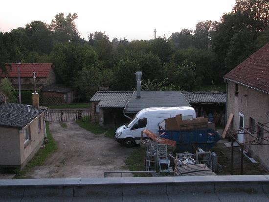 Landgasthof zum Muhlenteich : Blick aus dem Zimmer