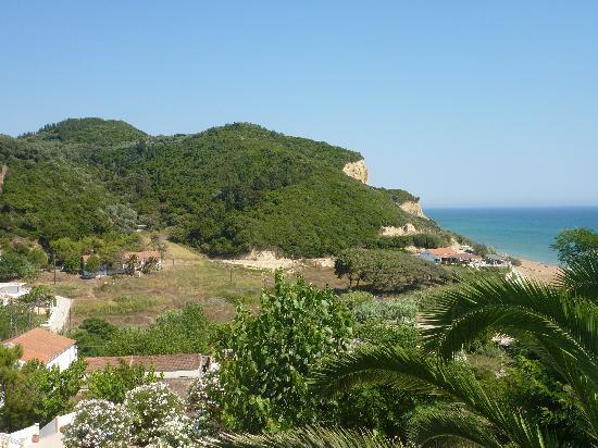 Vitouládes, Grèce : Vista dal terrazzo