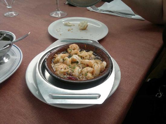 El Amanecer: gambas all'ajillo piatto tipico canario