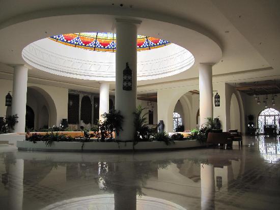 ฮิลตันมาซาอลัมนูเบียนรีสอร์ท: schöne Lobby