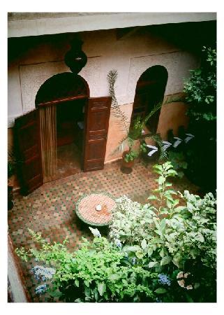 Riad Massiba: The courtyard