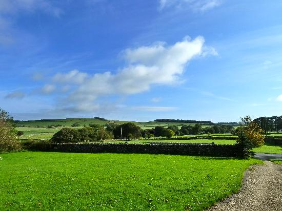 Cotterill Farm Holiday Cottages: View from outside Milk Parlour