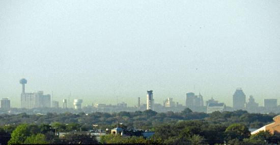 Homewood Suites by Hilton Hotel San Antonio North: View of skyline with my Nikon P500