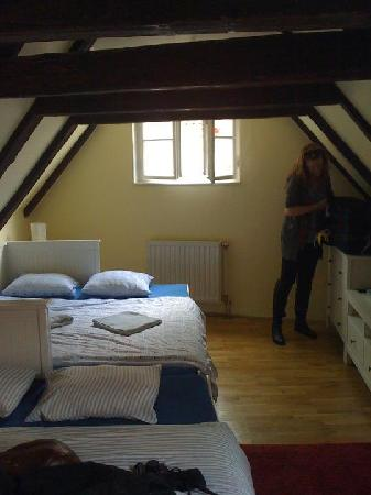 "Charles Bridge Economic Hostel: ""the attic"""