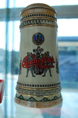 Budweiser Brewery (Budejovicky Budvar): Beer stein
