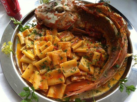 La Terra: the pasta with fish
