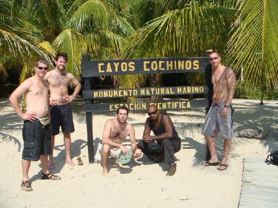 Hotel El Estadio: Hog Islands/Cayos Cochinos National Park