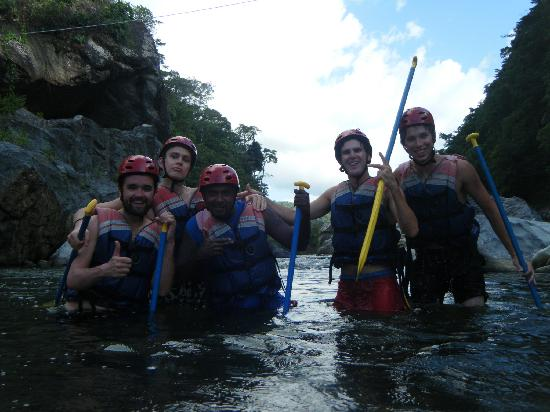 Hotel El Estadio: White water Raftin with the Australians & Vermont