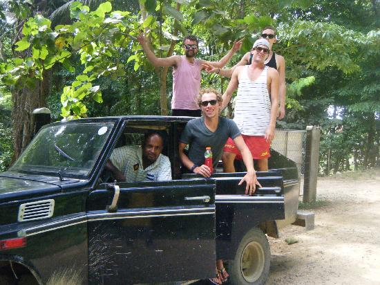 Hotel El Estadio: Safari Land Cruiser in the Hikes on the Ceiba Mountain