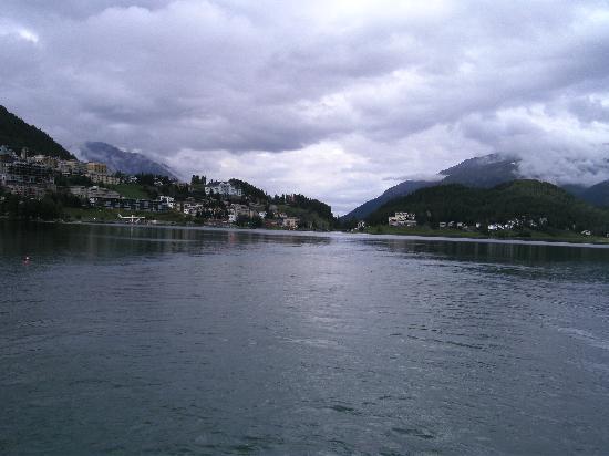 Berghotel Randolins: st.moritz lake view