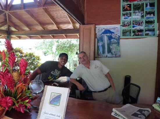 Hotel El Silencio del Campo: My man Humberto, he was the best!