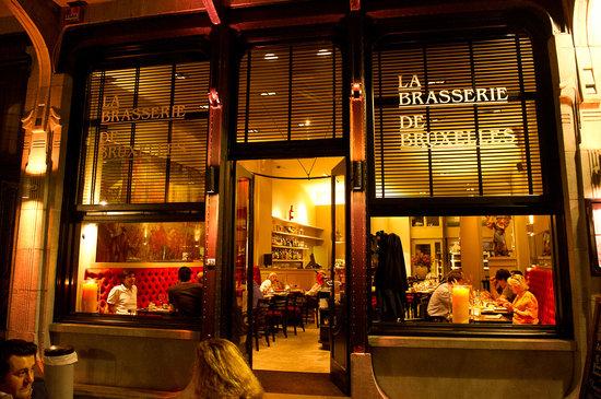 La brasserie de bruxelles restaurant avis num ro de for Ambiance cuisine bruxelles