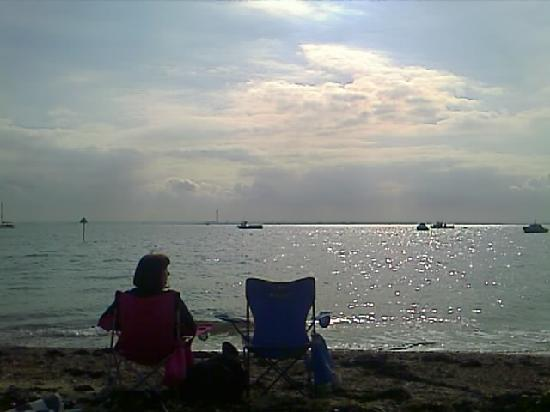 Chill Out At Thorpe Bay Southend Sept 2011 Picture Of