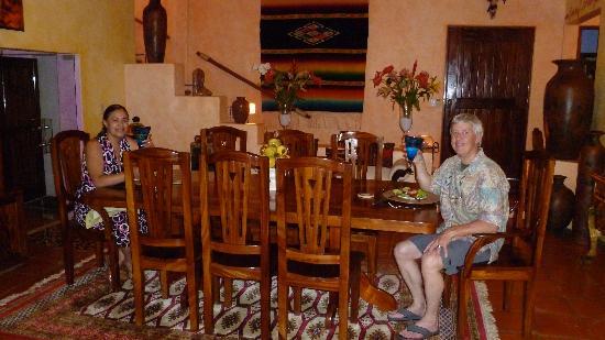 Casa Candiles Inn: The Honeymoon Dinner-Welcome to Casa Candiles
