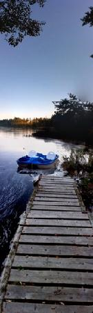 October at Roseway River Cottages