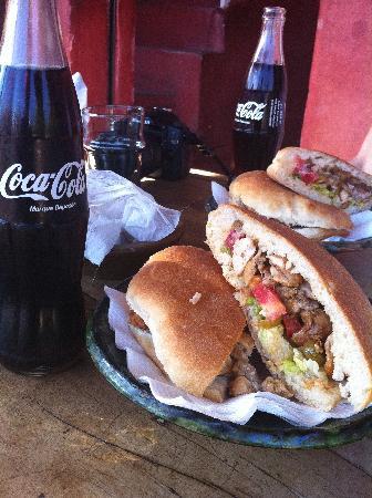 Cafe Des Epices: The poulet (chicken) sandwiches!!!!!