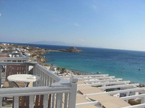 Myconian Ambassador Relais & Chateaux Hotel : view from our room