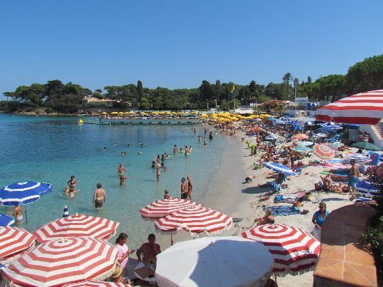 Hotel Beau Site: La Garoupe Beach
