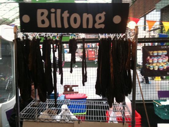 ตลาดโบโร่: Get your biltong here :-)