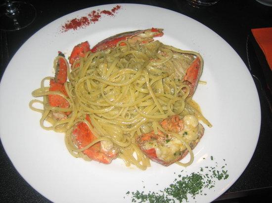La Forcola: Dinner!