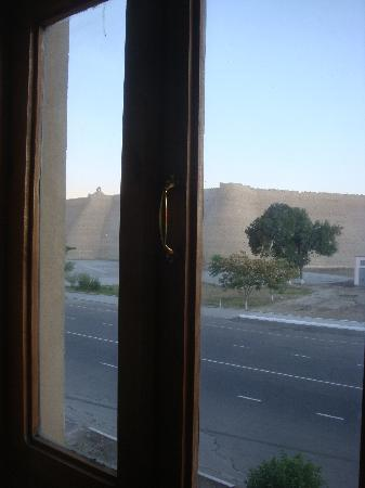 Caravan Hotel: View from the Room