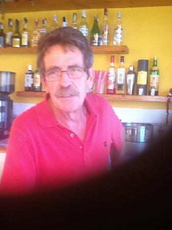 Hotel Merce: antonio bar manager