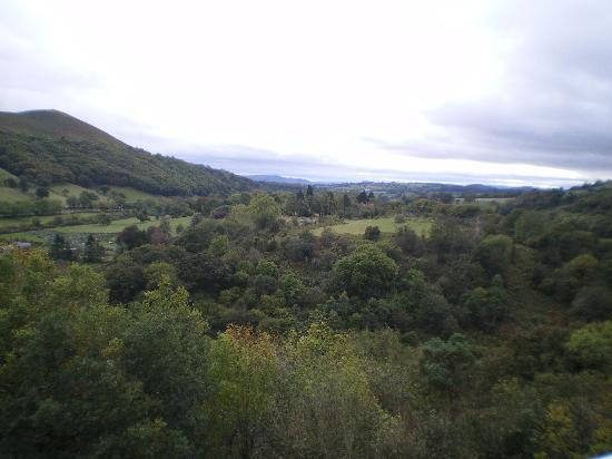 The Longmynd: VIEW FROM BALCONY