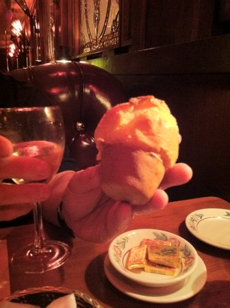 Continental Restaurant: MY POPOVER!  yummm