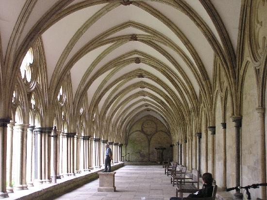 Salisbury, UK: cloisters