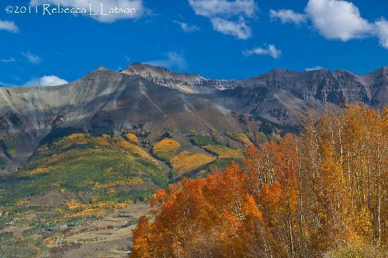The Hotel Telluride: Looking Back Toward The Telluride Area Along Hwy 147 North