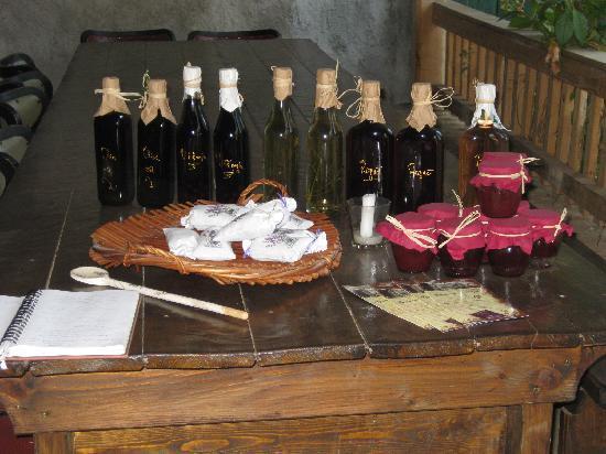Agrotourism Kalpic b&b: Produits de l'agrotourisme