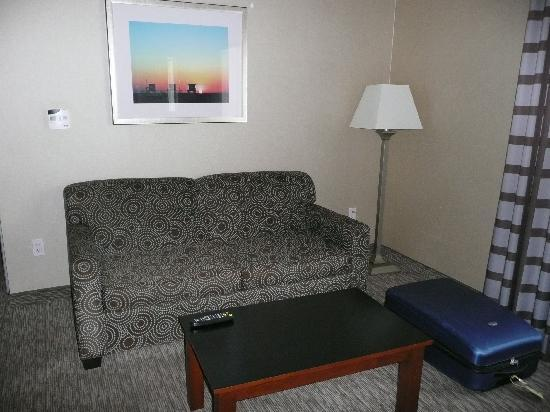 Hampton Inn Santa Barbara/Goleta : Seating area
