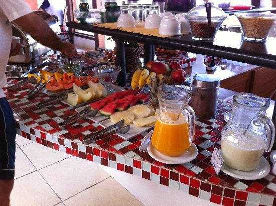 Azeda Boutique Hotel: Breakfast