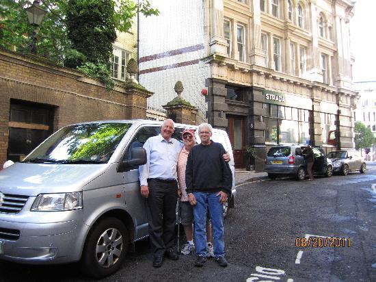 Ray Ruddick's Day and Away Tours : Ray & our guys