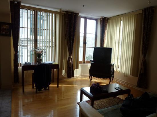 Habitation du Vieux Montreal : Living area