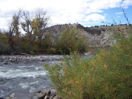 The Longhorn Ranch Lodge & RV Resort: The river that runs through it