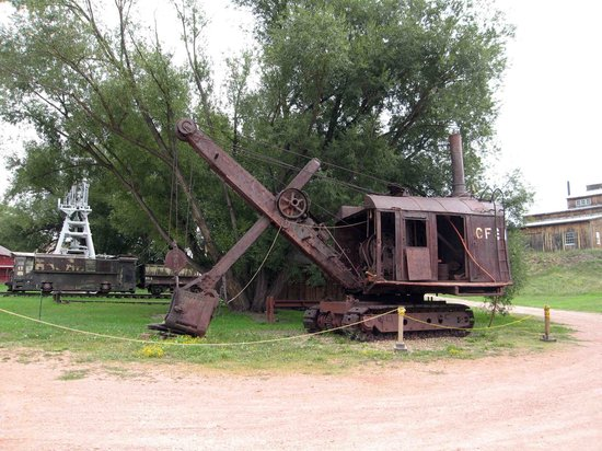 Western Museum of Mining and Industry: Outdoor exhibits