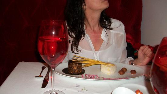 Dulce Patria en Las Alcobas : plato principal pato