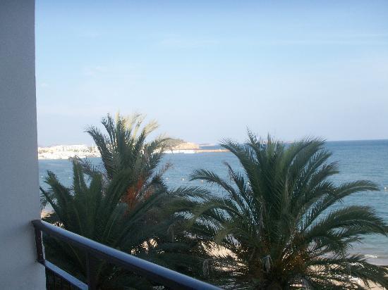 Hotel Riomar: View from balcony floor 2.