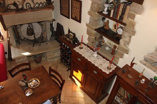 La Locanda del Capitano: La Guardiola (the Guard House) Downstairs