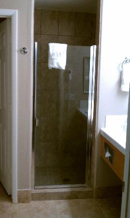 Tuscany Suites & Casino: Shower