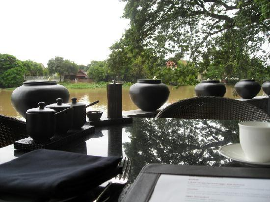 อนันตรา เชียงใหม่ รีสอร์ท แอนด์ สปา: View at breakfast