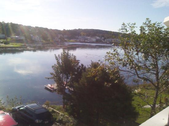 Harbour Towne Inn on the Waterfront: View from the Deck outside the room.
