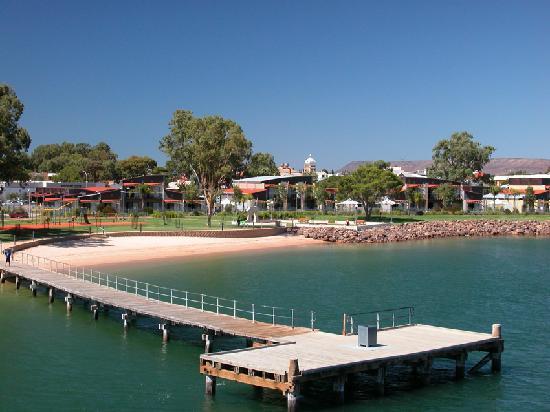 Majestic Oasis Apartments - View from Spencer Gulf